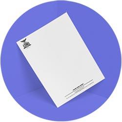 Têtes de lettres, sous main, bloc papier, tampon, chemise, liasse autocopiante, calendrier, agenda... tous vos documents d'entreprise avec Sarthe Enseignes